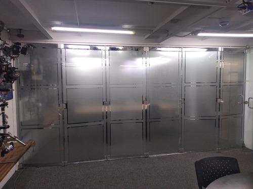 vidrios templados/divisiones de bañó