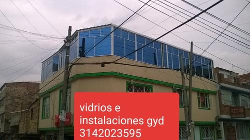 vidrios y aluminios e instalaciones gyd