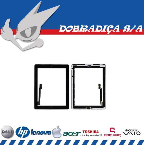 vidro com touch screen ipad 3 tela glass original display