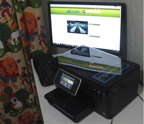 vidro da scanner  p/ hp c310b