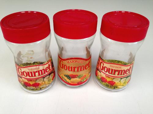 vidro de maionese gourmet antigo coleção decoração