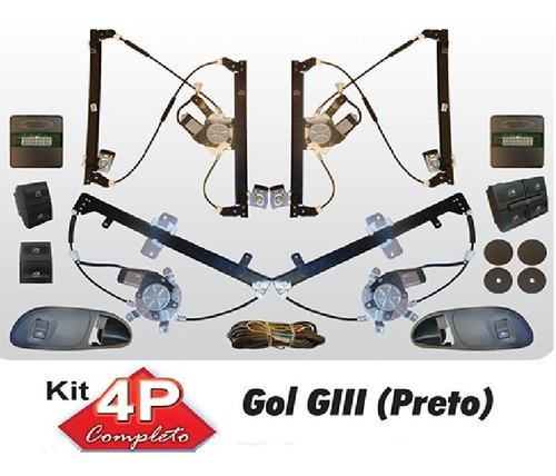 vidro eletrico gol g3 4 portas completo sensorizado