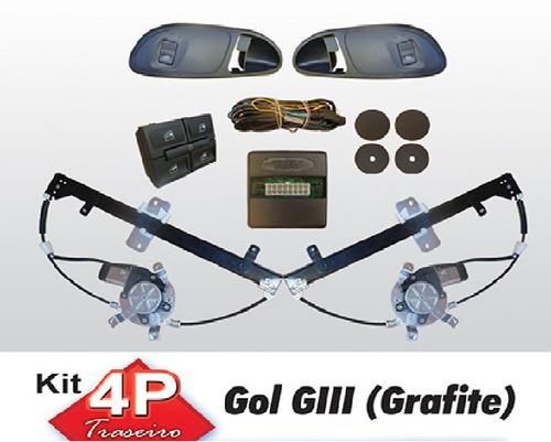 vidro eletrico parati g3 4 portas traseiro sensorizado
