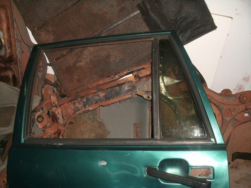 vidro fixo porta traseira esquerda sanatana 91 a 2006 usado!