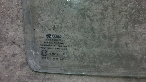 vidro fixo traseiro esquerdo gol quadrado 92 original