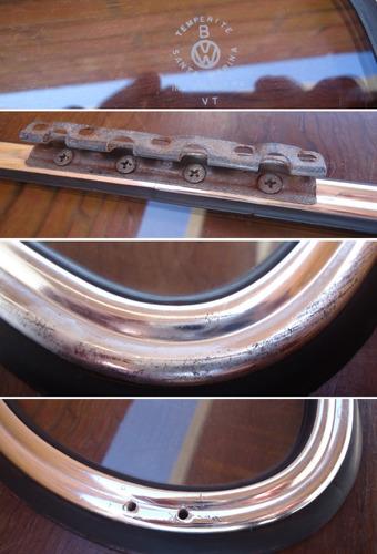 vidro lateral basculante móvel fusca original vw santa m.iii
