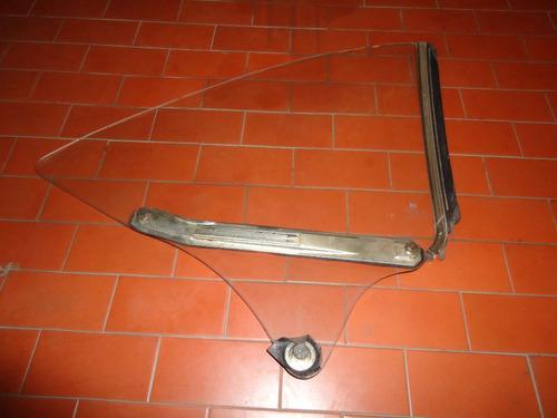 vidro lateral tras. opala coupe com friso entre vidros l-e