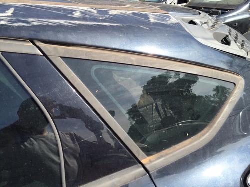 vidro lateral traseiro fixo esquerdo focus 2014 a 2016 hatch
