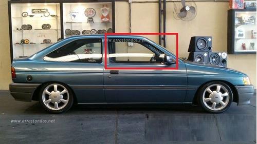 vidro porta escort europeu 1993 a 1996 lado direito