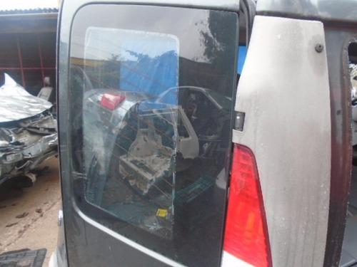 vidro porta traseira direita compartimento carga doblo 2009