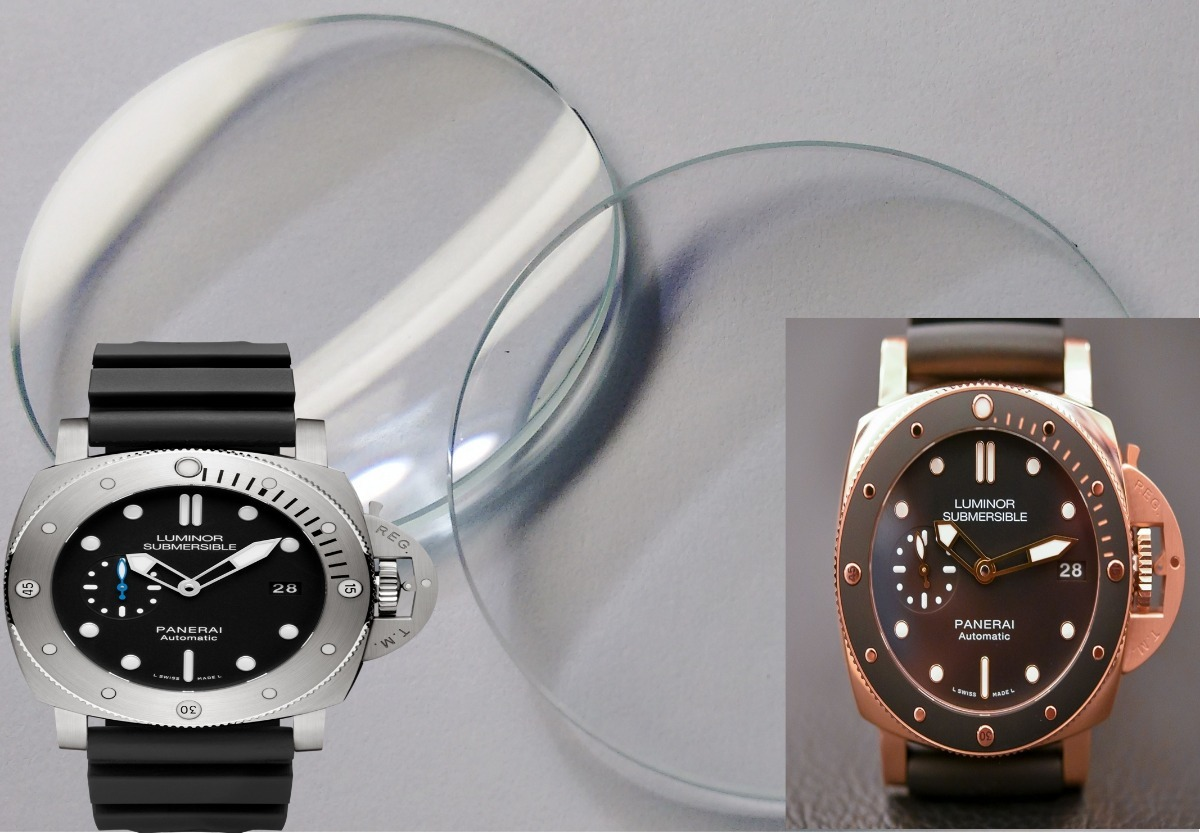 7598061f53b vidro relogio panerai luminor submersible 1950 e outros. Carregando zoom.
