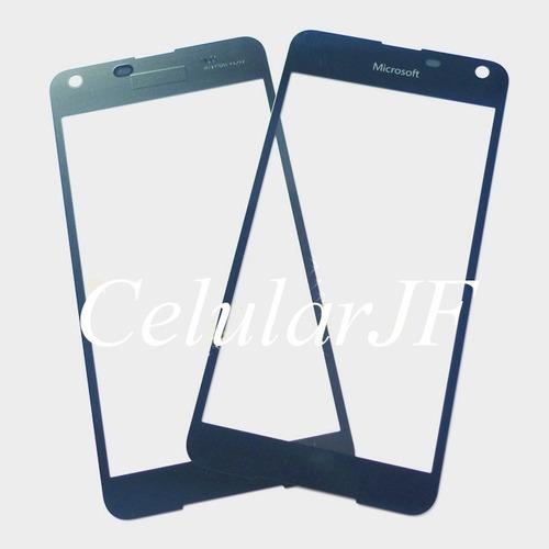 vidro s/ touch lumia 650 visor tela lente frete gratis