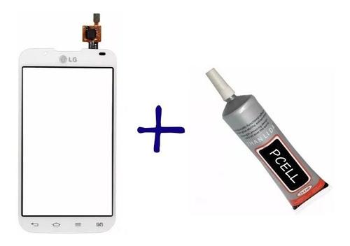 vidro tela touch screen lg optimus l7 ii p715 p716 + cola