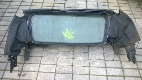 vidro traseiro da capota escort xr3 93/94/95 conversível