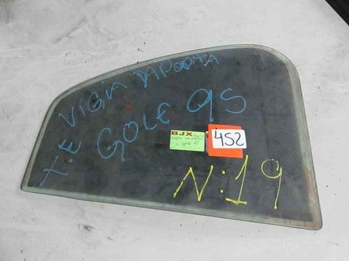 vidro vigia porta tras/esq - vw golf 1995 - r 452 k