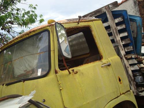 vidro vigia traseiro caminhão fiat 80 usado