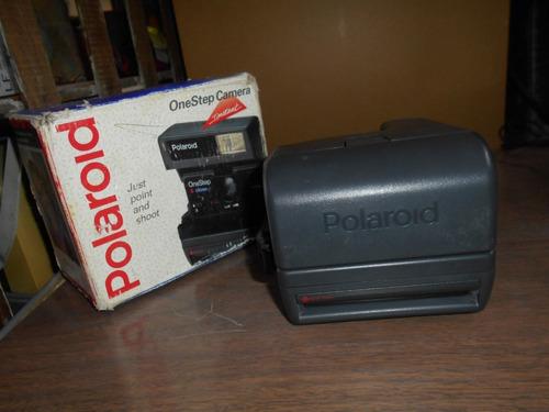 vieja cámara polaroid one step 600