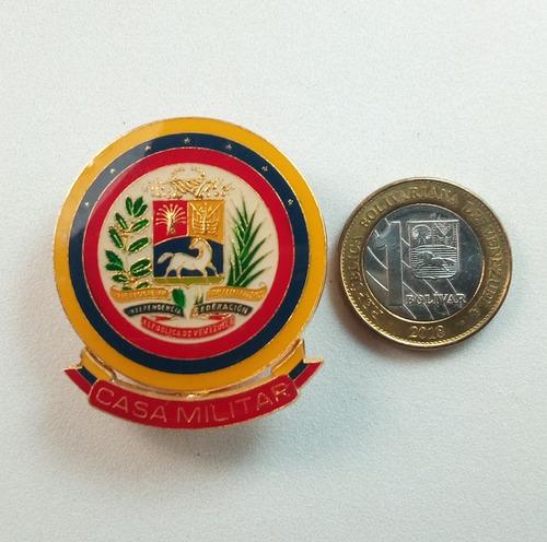 vieja insignia de casa militar venezuela