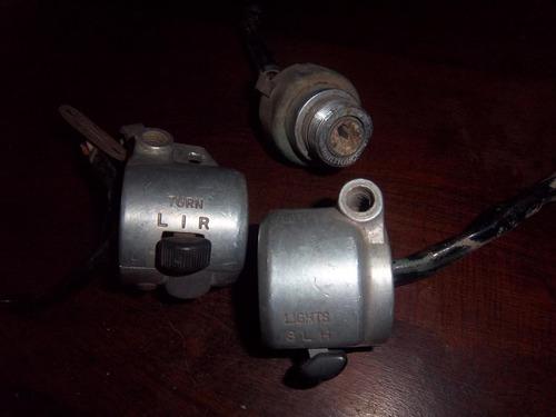 viejo manillares llaves luces tambor japones decada del 80