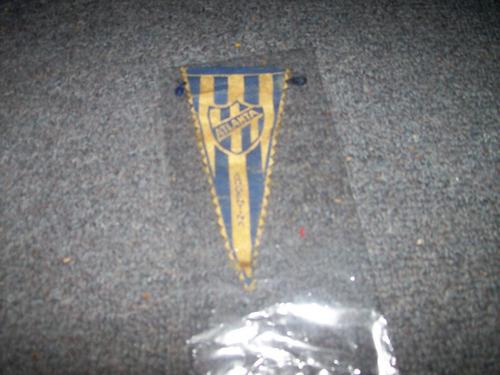 viejo mini banderin atlanta - no envio
