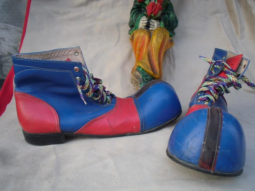 Viejos Y en Piel 1 En Payaso De 000 00 Mercado Rojo Azul Zapatos YwxHnYrq 0d440d234a1