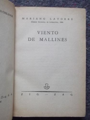 viento de mallines mariano latorre primera edición 1944