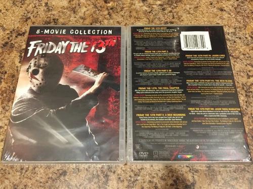 viernes 13 colección completa dvd