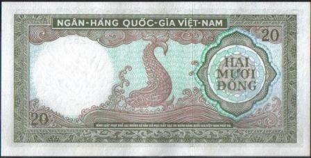 vietnam sur 20 dong nd1964 p16a