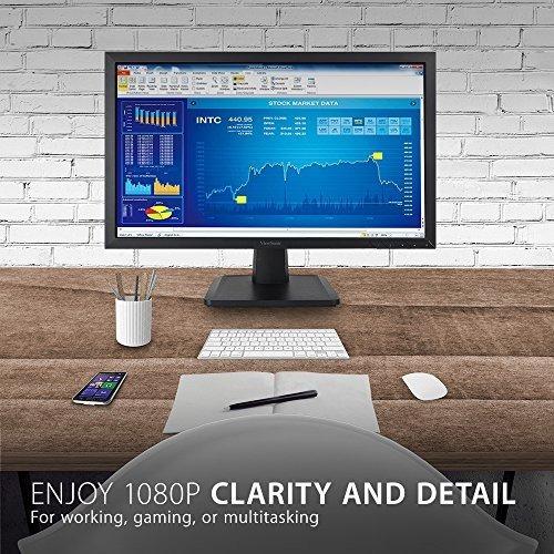 viewsonic va2252sm 22 plg 1080p led monitor displayport dvi