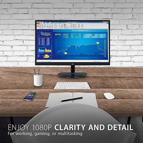 viewsonic va2259 smh monitor led sin marco ips 1080p de 22 p