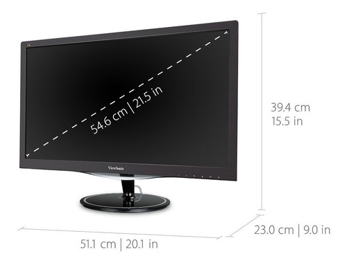 viewsonic vx2257-mhd 22  2ms 1080p freesync monitor hdmi,