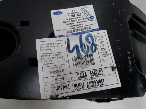 viga alma parachoque focus 13/18 original bm51a10922be