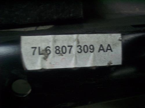viga impacto trasero vw touareg hasta 2010 volkswagen