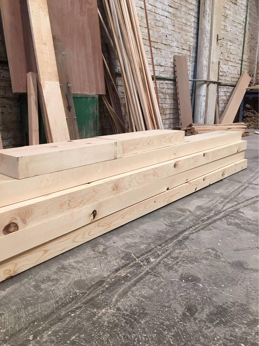 Viga madera de pino en mercado libre - Vigas redondas de madera ...