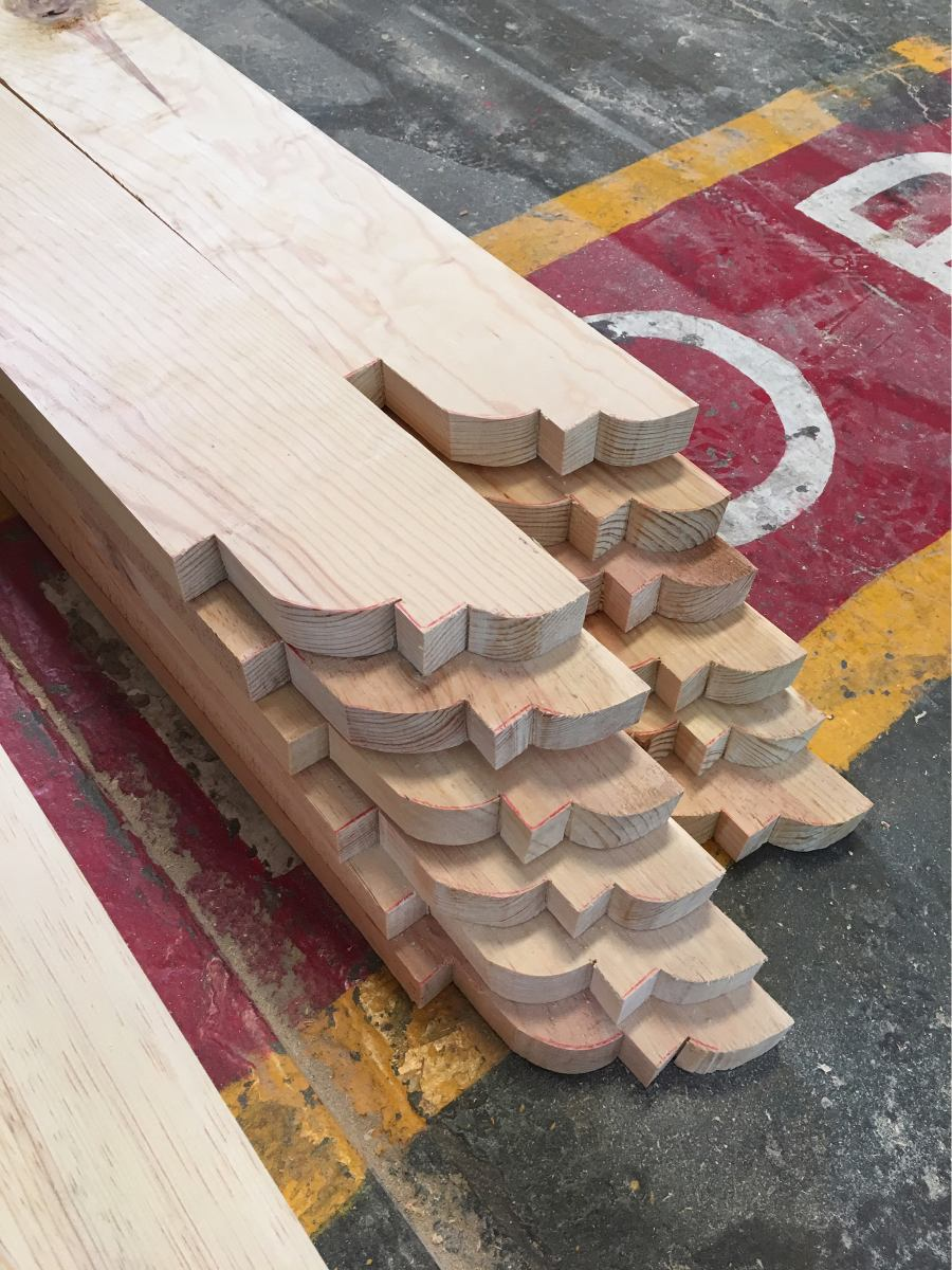 Viga madera de pino 6m en mercado libre - Vigas de madera redondas ...