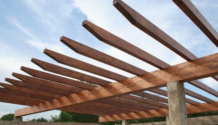vigas de madera para techo - Bigas De Madera