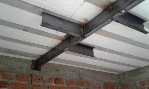 vigas para reforços estruturais de aço. reforço de laje