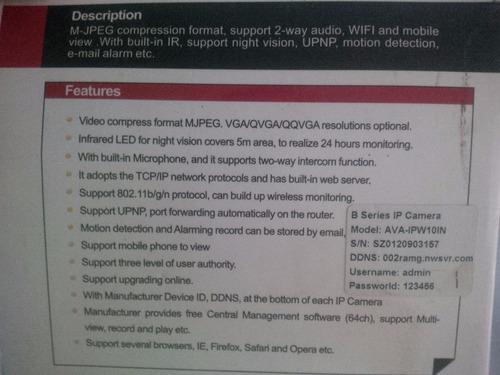 vigilancia audio camara