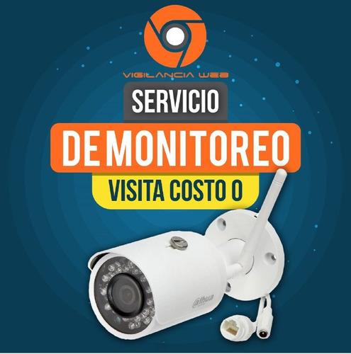vigilancia y monitoreo de camaras de seguridad