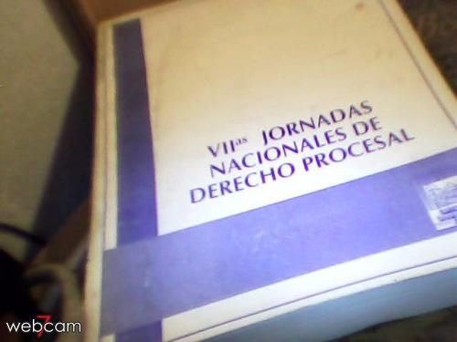 viis jornadas nacionales de derecho procesal