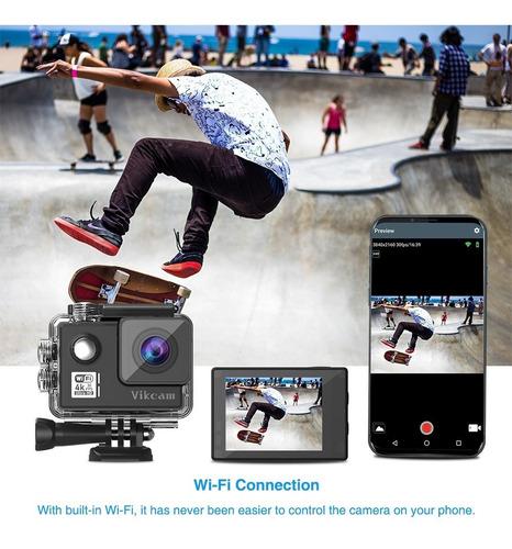 vikcam icatch v50 estabilizador 1080p 4k 30fps h265 wifi