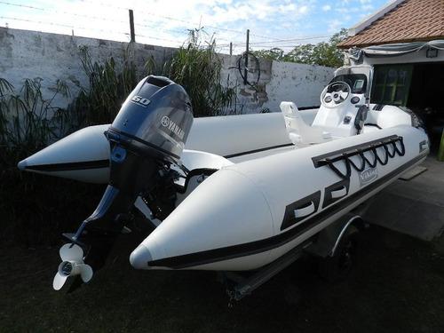 viking 4,9 con yamaha 60 hp 4 tiempos equipazooo