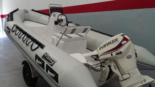viking 4,9 mts con mercury 40 hp 2 t 3 cilindros una bestia