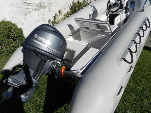 viking 4,9 mts con yamaha 40 hp 2 tiempos arranque electrico