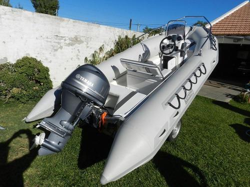 viking 4,9 mts con yamaha 50 hp detl  4 tiempos ecologico
