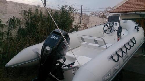 viking 4,9 mts matrizado con yamaha 40 hp 4tiempos ecologico