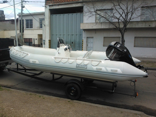 viking 5,2  c/60hp 4 tiempos mercury inyeccion full