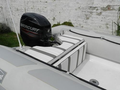 viking 5,2 mts con mercury 40 hp 2 tiempos 3 cilindros