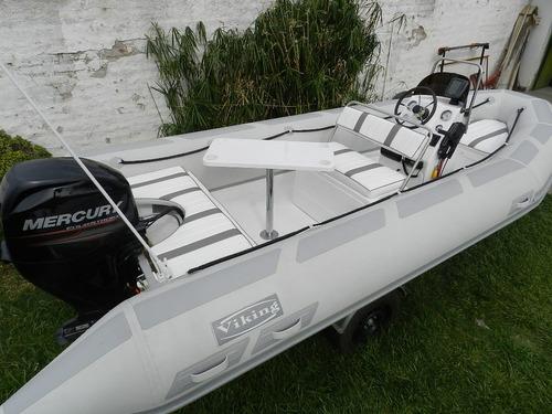 viking 5,2 mts con mercury 50 hp 4 tiempos leer aviso