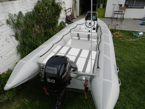 viking 5,2 mts con mercury 60 hp 4 t ecologico muy muy full
